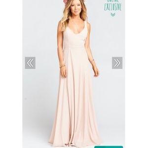 Show Me Your Mumu Jenn Maxi Dress - Dusty Blush